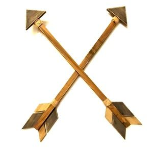 Wood distressed Arrows